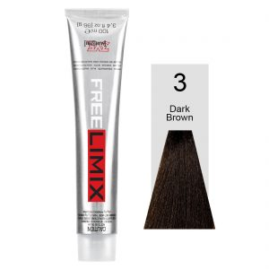 Hair-Color-FREE-LIMIX-100ml-3-DARK-BROWN-HCFL