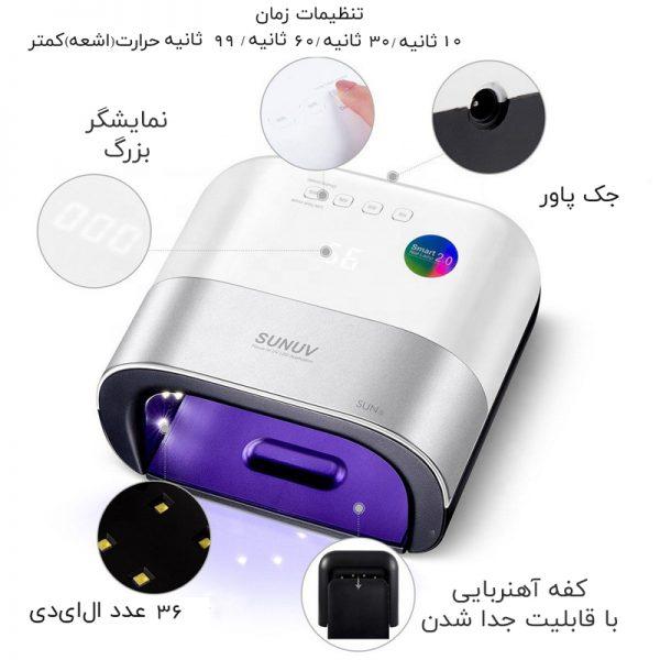 SUN-UV-SUN3-48W-Smart-UV-LED-Nail-Lamp-02-SU3