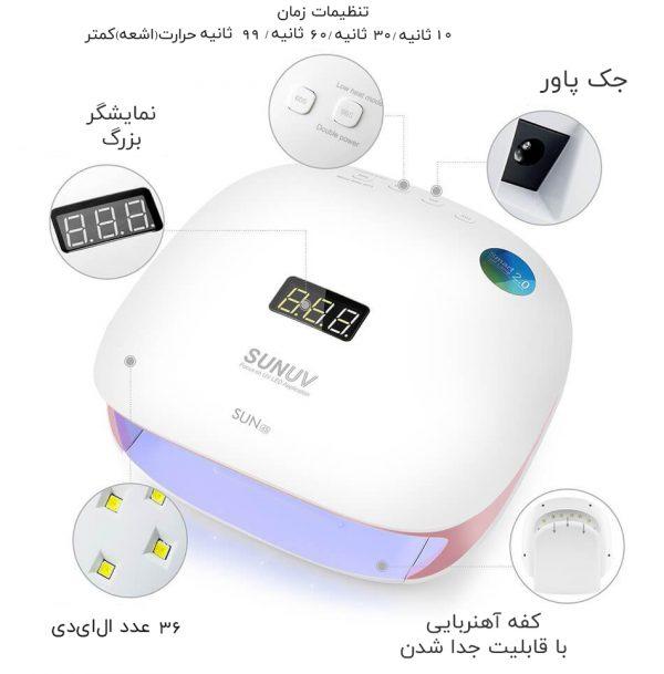 SUN-UV-SUN4S-48W-Smart-UV-LED-Nail-Lamp-07-SU4S