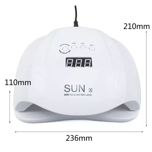 SUN-UV-SUN-X-54W-Smart-UV-LED-Nail-Lamp-11-SUX